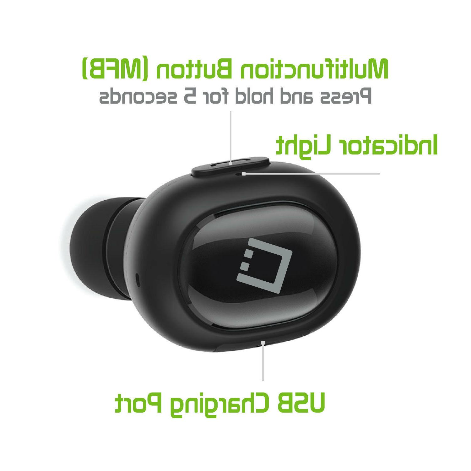 Universal Ultra Wireless Headset for Cell