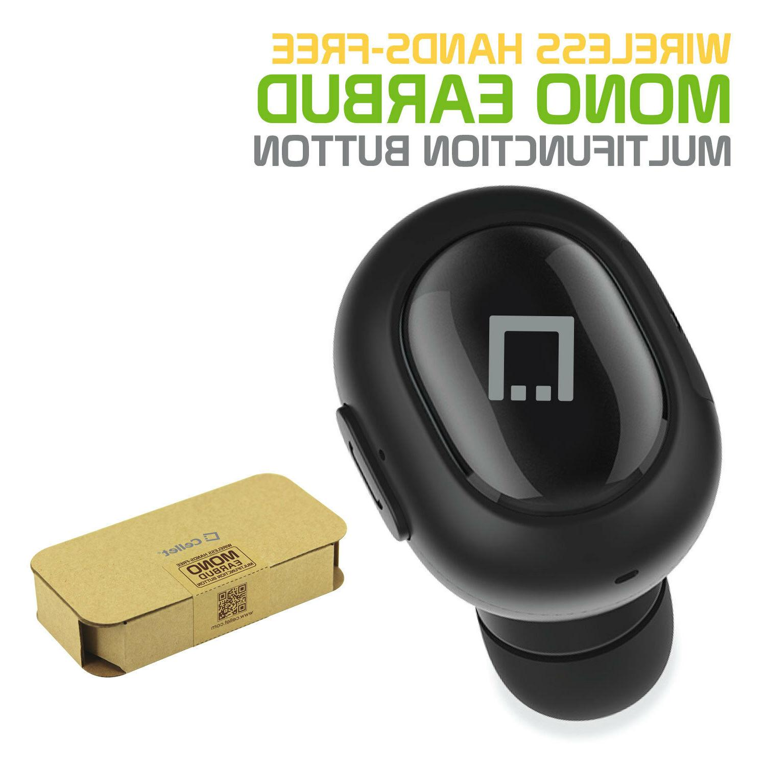 universal ultra compact bluetooth wireless mono earbud