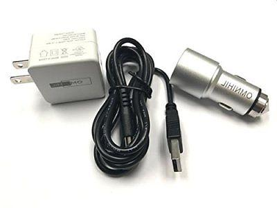 wall and car charger w 30ft usb