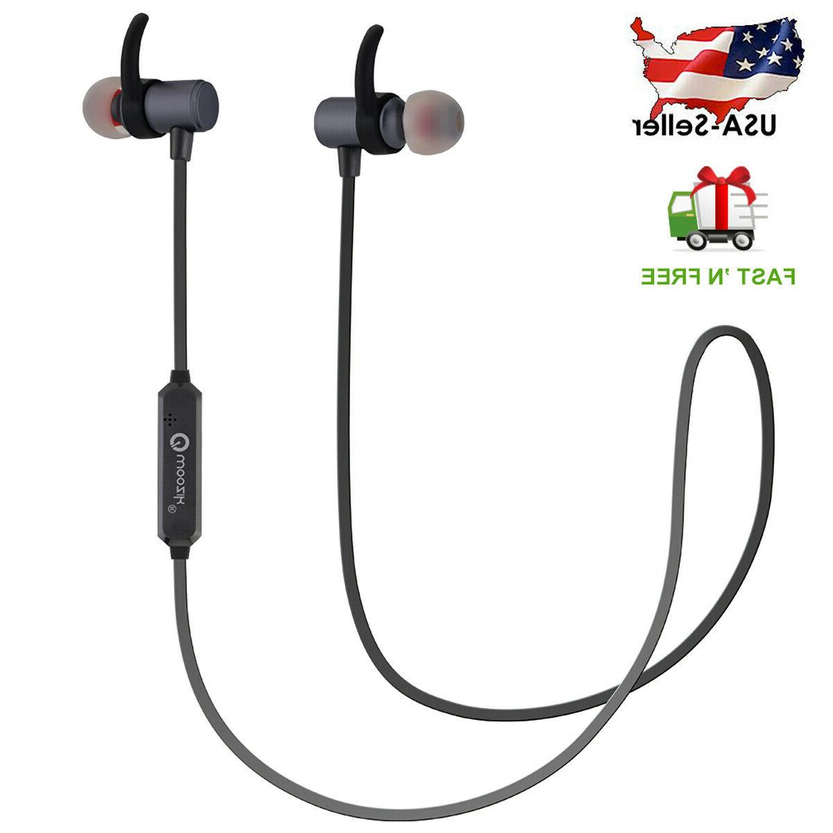 waterproof sport bluetooth headset wireless headphones in