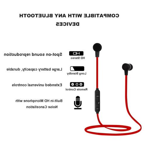 Wireless Sport Earbuds Stereo With