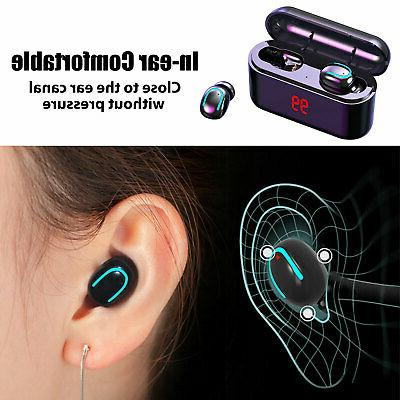 Wireless 5.0 Earbuds Headset Apple iPhone Android