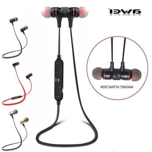 Wireless Bluetooth 4.1 Awei A920BL Sport Stereo Headset Nois