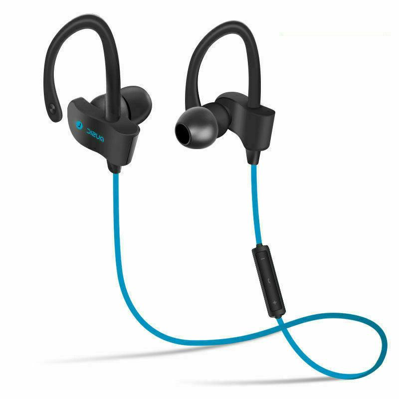 Wireless Bluetooth 4.1 Sweatproof Stereo Earbuds For Cell