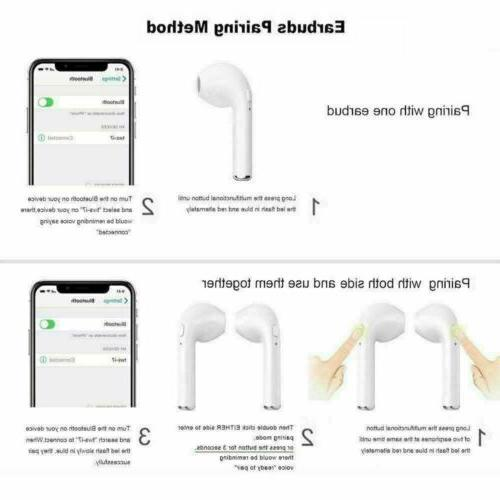 Bluetooth Earbuds For IOS Android Apple Wireless Headphones