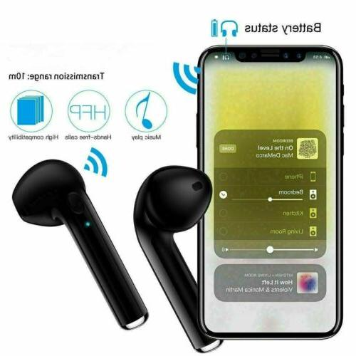 Bluetooth Earbuds Android Apple Wireless
