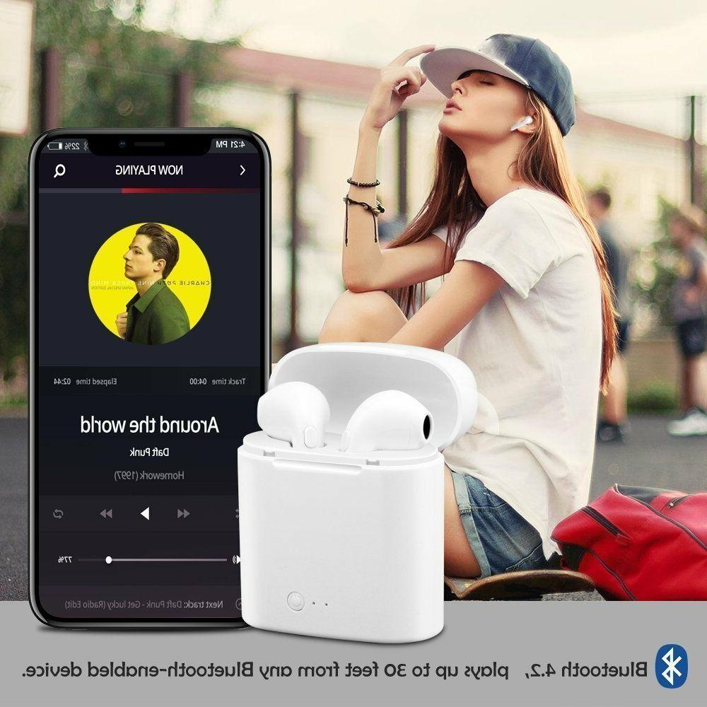 Wireless Bluetooth In Headphone for iPhone X