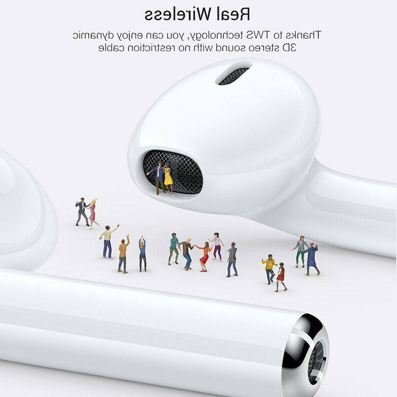 Wireless Bluetooth Headphones For Apple 7 8 X Charger Case
