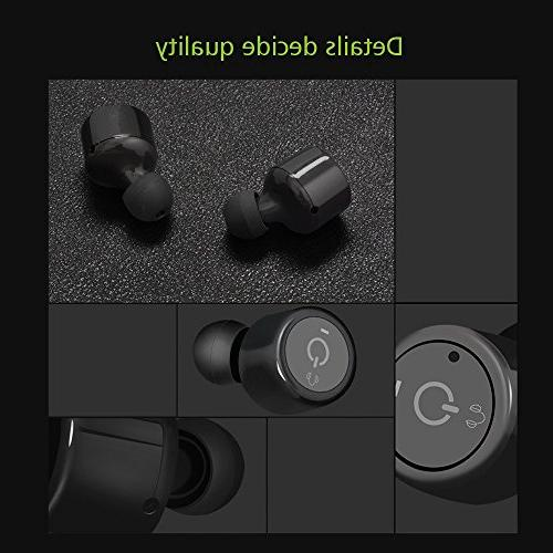Feister Wireless Bluetooth Mini Bluetooth Stereo Business Car Speaker headset iPhone, IOS, Android,Samsung