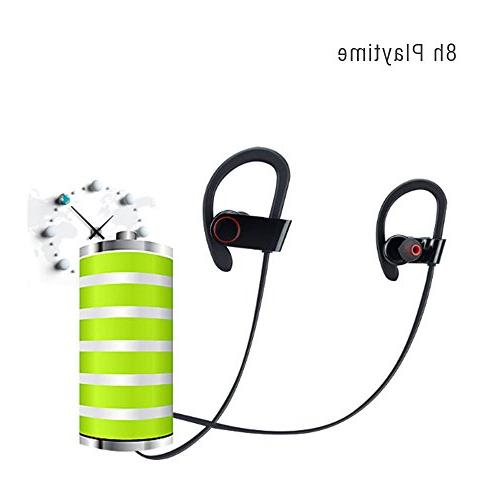 Sport Bluetooth 8H Playtime, Hand with Ear for Gym
