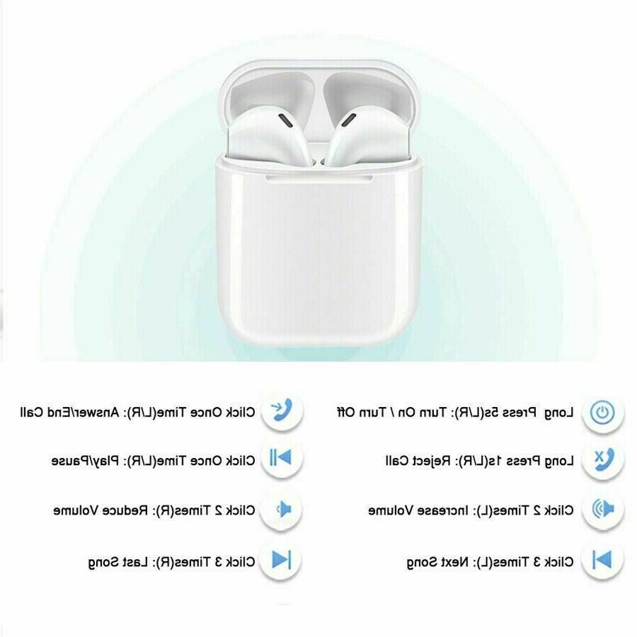 Wireless Headsets Earbuds Compatible iPhone AirPods