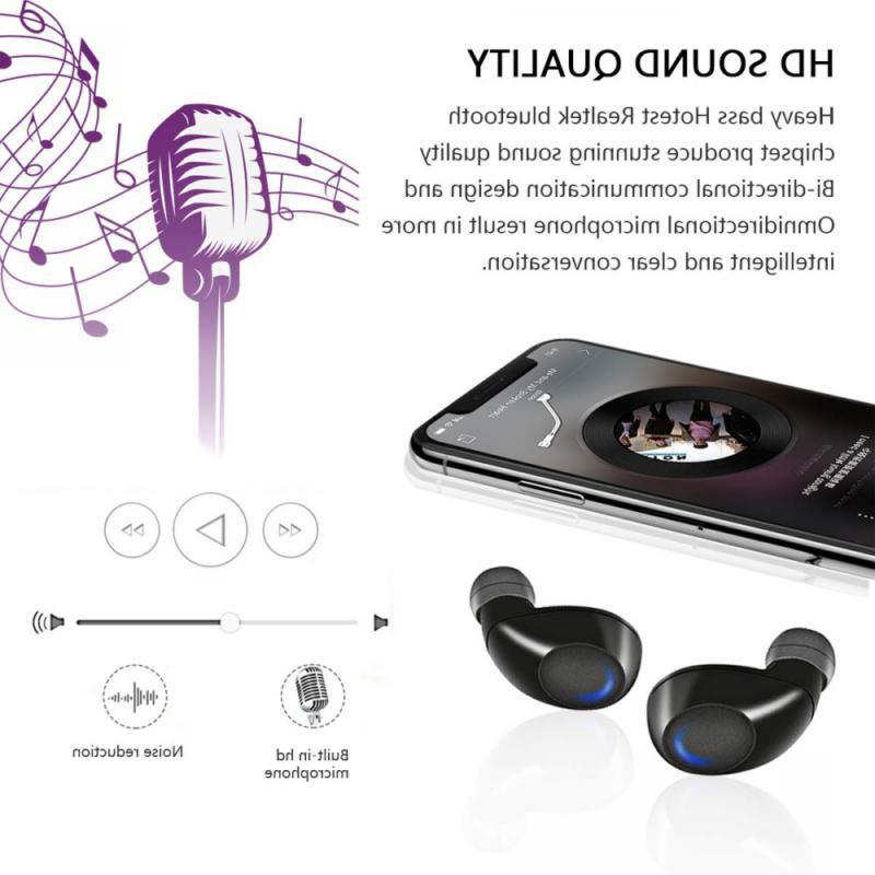 Wireless Earbuds,Kissral True 15H Playtime Bass Head