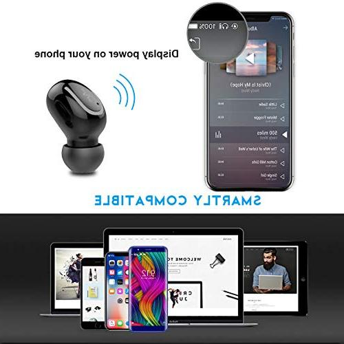 Bluetooth Headphone True Earbud Music Noise Built-in 3D Stereo Mic