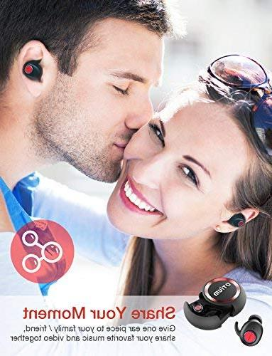 True Earbuds, Soar Headphones with Mic/Deep Bass and
