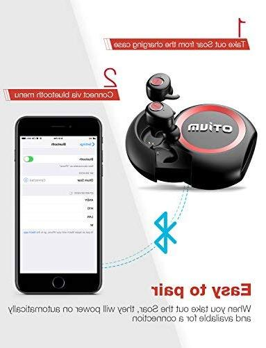 True Wireless Soar TWS Bluetooth in-Ear Headphones with Mic/Deep for Sport, and Relaxation