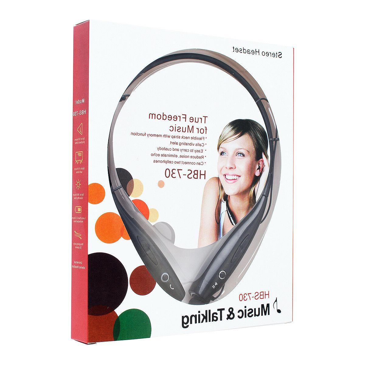 Wireless Stereo Earphone Neckband with Mic