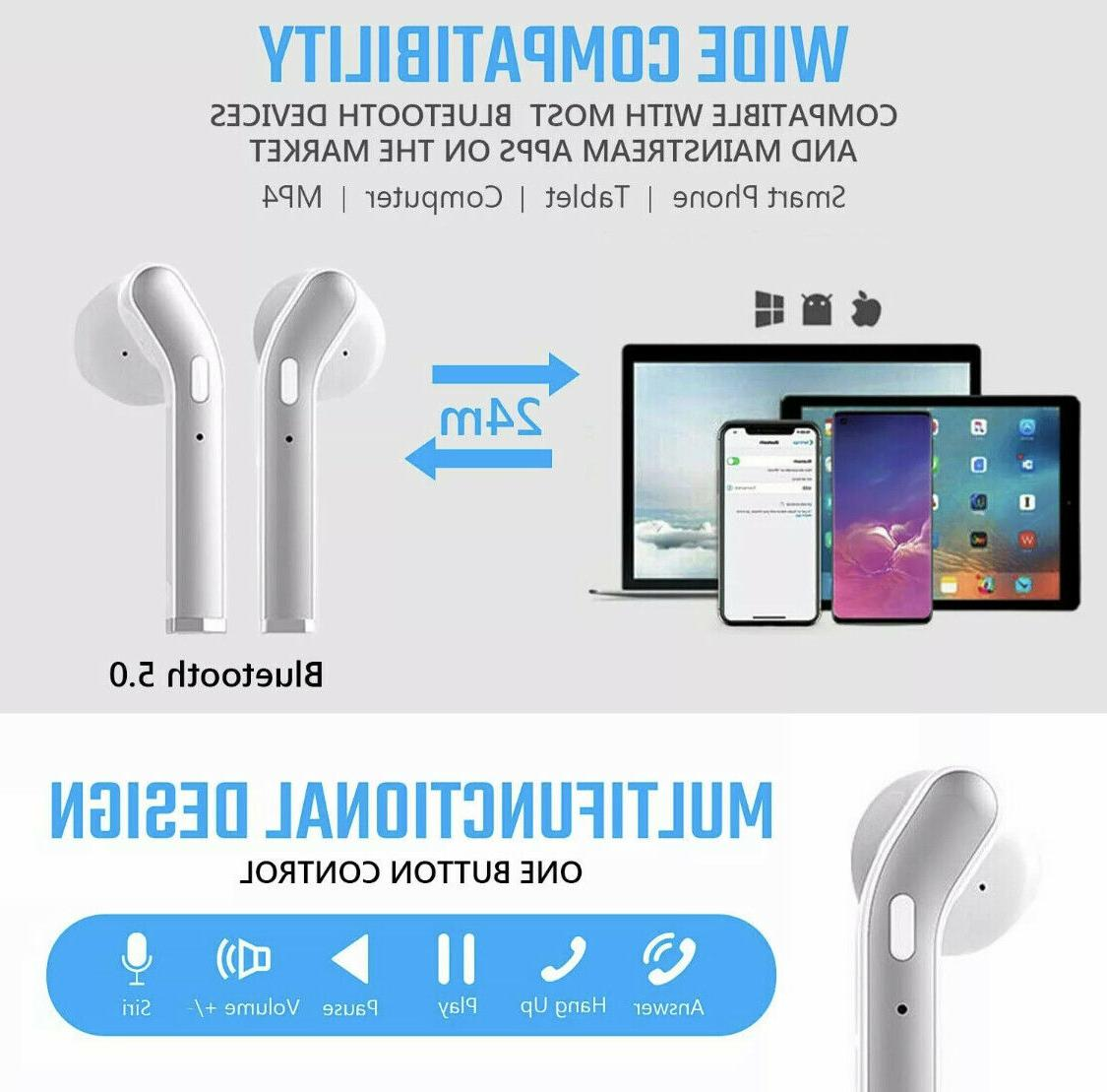 Wireless Earbuds Bluetooth In-Ear Pods For Android