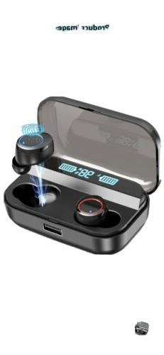 Kissral X11 Bluetooth 5.0 Earbuds w/ 3000mAh Charging Case
