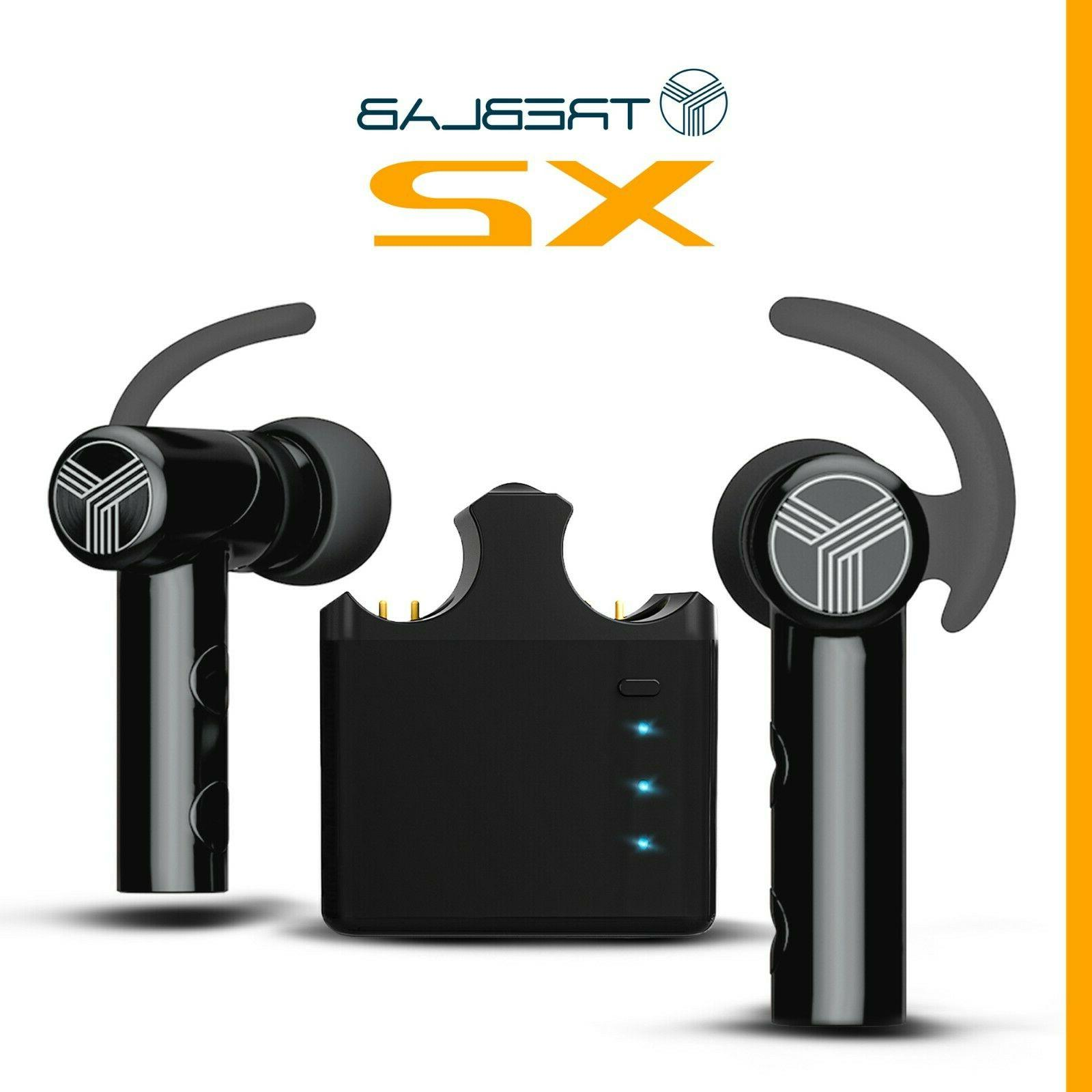 TREBLAB X2 Truly Earbuds Sports Bluetooth Headphones with