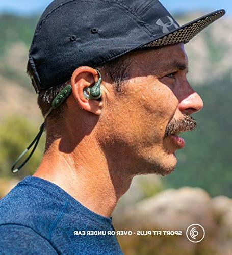 Jaybird X4 Headphones and Compatible with iOS and Sweatproof Black