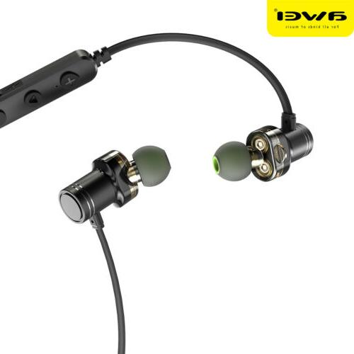 Awei Stereo Earbuds Earphone Headset Magnetic In-Ear