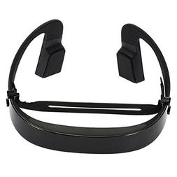 SODIAL LF-18 Bone Conduction Wireless Bluetooth Stereo Heads
