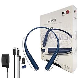 LG Tone 780 Bluetooth Wireless Stereo Headset with Wall/Car