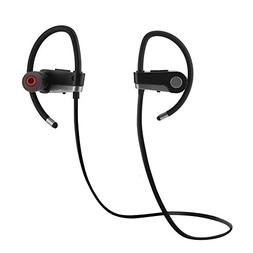 fosa Lightweight Sports Running In-Ear Stereo Earbud, Blueto