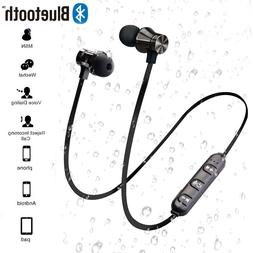Magnetic <font><b>Wireless</b></font> Bluetooth Earphone Ste