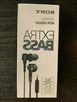 Sony MDR-XB50AP Earphones Earbuds WIRED Extra Bass MDRXB50AP