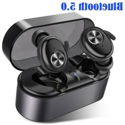 Mini Wireless Earbuds Bluetooth 5.0 Stereo In-Ear TWS Headse