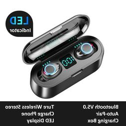 Mini Wireless Bluetooth Earbuds With Mic True Bass Twins Ste