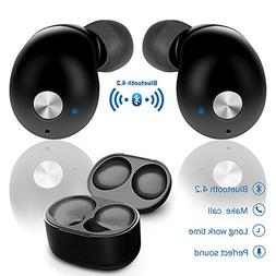 elegantstunning Bluetooth Earbuds Mini True Wireless Twins i