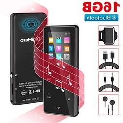 Grtdhx MP3 Player,MP3 Player with Bluetooth,16GB Music Playe