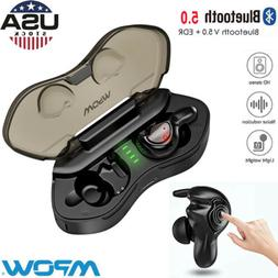 Mpow Wireless Earbuds Bluetooth Earphones V5.0 3D Stereo Spo