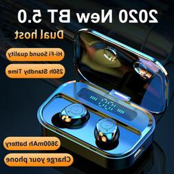 NEW 2020* Dual Wireless Bluetooth Earbuds With Charging Case