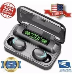New Bluetooth Earbuds for iphone Samsung Android Wireless Ea