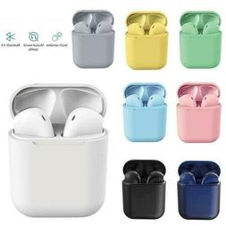 NEW Wireless Bluetooth Earbuds with Charging Case For iPhone