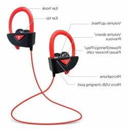 Photive Bluetooth Earbuds Rechargeable Wireless Sports Headp