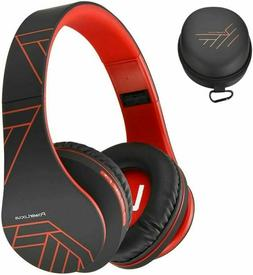 PowerLocus Bluetooth Over-Ear Headphones, Wireless Stereo Fo