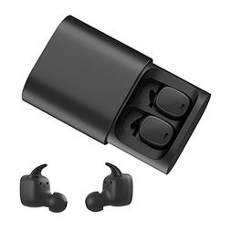 QCY T1 PRO TWS Dual Bluetooth Earphones IPX4 Waterproof Hea