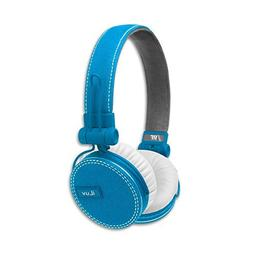ReF by iLuv - Canvas Fabric Exterior On-Ear Headphones with