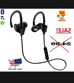 SALE! New Bluetooth Earbuds Sports Water Resistant Headphone
