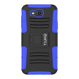 Samsung Galaxy J7 Stand Case, HLCT Rugged Shock Proof Dual-L
