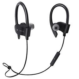 Stereo Earbuds with Earhook,Wireless Bluetooth Headset Headp