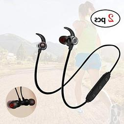 elegantstunning Stylish Sports Earplug Type Wireless Bluetoo