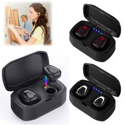 Super Bass Dual Earphones Bluetooth Stereo Headset Noise-Can