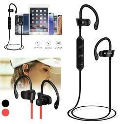 Sweatproof Sport Bluetooth Headset Wireless Headphones In-Ea