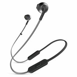 JBL T205BT Wireless Earbuds with Three-Button Remote and Mic