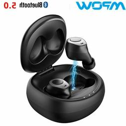 Mpow T3 Wireless Earphone Earbuds Bluetooth V5.0 TWS Headpho